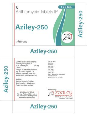 Aziley-250 - Zodley Pharmaceuticals Pvt. Ltd.