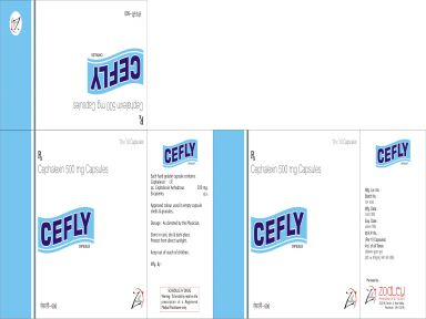 Cefly-500 - Zodley Pharmaceuticals Pvt. Ltd.