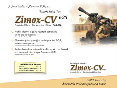 Zimox-CV-625 - (Zodley Pharmaceuticals Pvt. Ltd.)