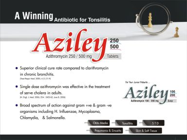 Aziley-100 - (Zodley Pharmaceuticals Pvt. Ltd.)