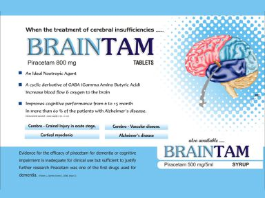 Braintam - (Zodley Pharmaceuticals Pvt. Ltd.)