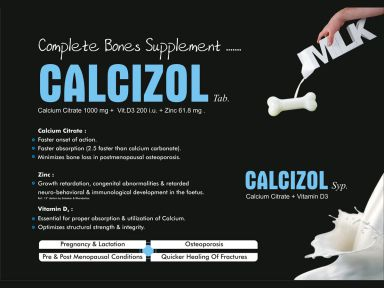 Calcizol - (Zodley Pharmaceuticals Pvt. Ltd.)