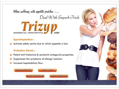 Trizyp - (Zodley Pharmaceuticals Pvt. Ltd.)