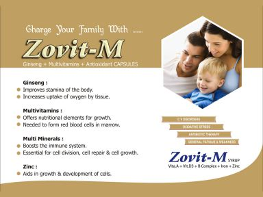 Zovit -M - (Zodley Pharmaceuticals Pvt. Ltd.)