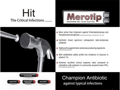 Merotip - 125 - (Zodley Pharmaceuticals Pvt. Ltd.)