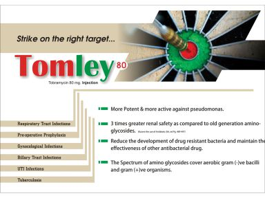 Tomley -80 - (Zodley Pharmaceuticals Pvt. Ltd.)