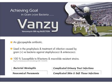 Vanzy-500 - (Zodley Pharmaceuticals Pvt. Ltd.)