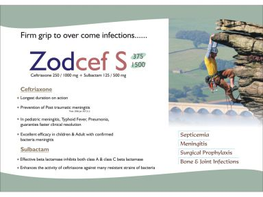 Zodcef-S-1500 - (Zodley Pharmaceuticals Pvt. Ltd.)