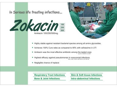 Zokacin-250 - (Zodley Pharmaceuticals Pvt. Ltd.)
