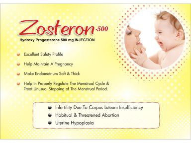 Zosteron-500 - (Zodley Pharmaceuticals Pvt. Ltd.)