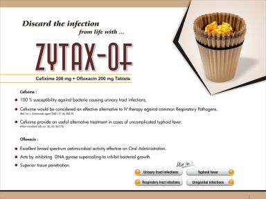 Zytax-OF - (Zodley Pharmaceuticals Pvt. Ltd.)