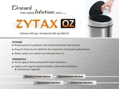 Zytax-OZ - (Zodley Pharmaceuticals Pvt. Ltd.)