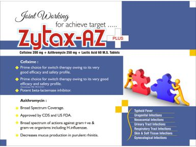 Zytax-AZ Plus - (Zodley Pharmaceuticals Pvt. Ltd.)