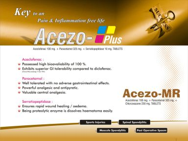 ACEZO-MR - (Zodley Pharmaceuticals Pvt. Ltd.)