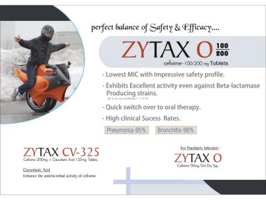 Zytax-CV 325 - (Zodley Pharmaceuticals Pvt. Ltd.)