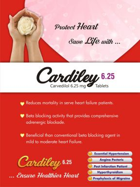 Cardiley 6.25 - (Zodley Pharmaceuticals Pvt. Ltd.)