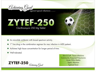 Zytef-250 - (Zodley Pharmaceuticals Pvt. Ltd.)