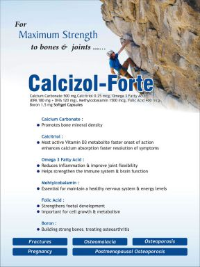 CALCIZOL FORTE - (Zodley Pharmaceuticals Pvt. Ltd.)