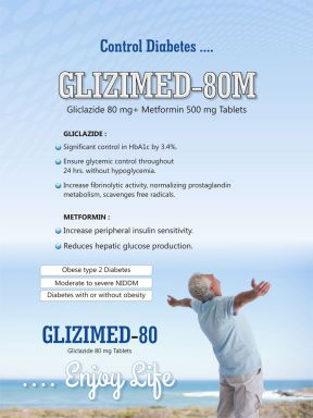 GLIZIMED 80M - (Zodley Pharmaceuticals Pvt. Ltd.)