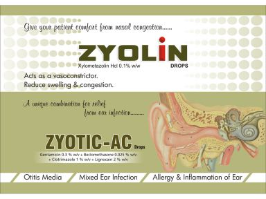 ZYOTIC AC - (Zodley Pharmaceuticals Pvt. Ltd.)