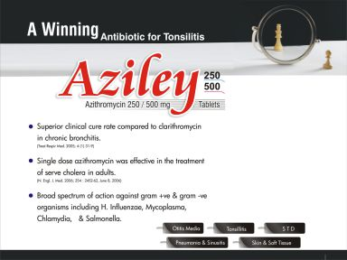 Aziley-500 - (Zodley Pharmaceuticals Pvt. Ltd.)