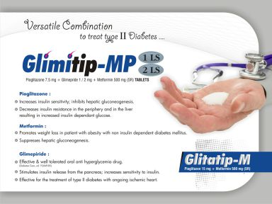 Glimitip-MP 1 LS - (Zodley Pharmaceuticals Pvt. Ltd.)