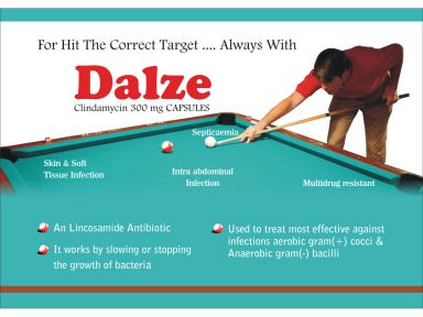 Dalze-300 - (Zodley Pharmaceuticals Pvt. Ltd.)