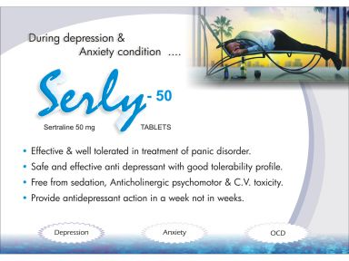Serly-50 - (Zodley Pharmaceuticals Pvt. Ltd.)
