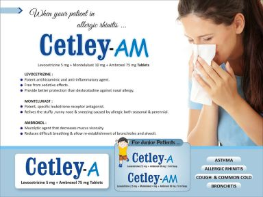 Cetley-AM - (Zodley Pharmaceuticals Pvt. Ltd.)