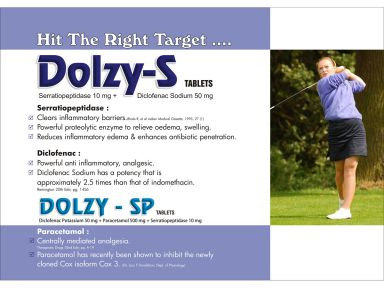 DOLZY - SP - (Zodley Pharmaceuticals Pvt. Ltd.)